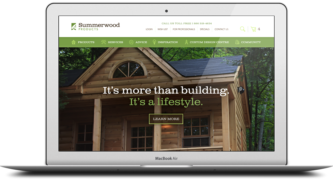 Summerwood Responsive Web Design
