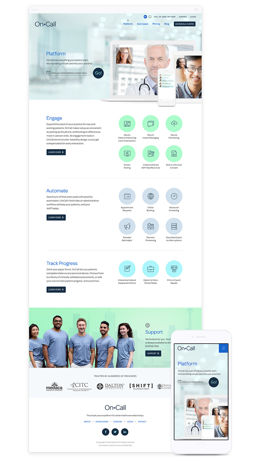 Web Design for Saas