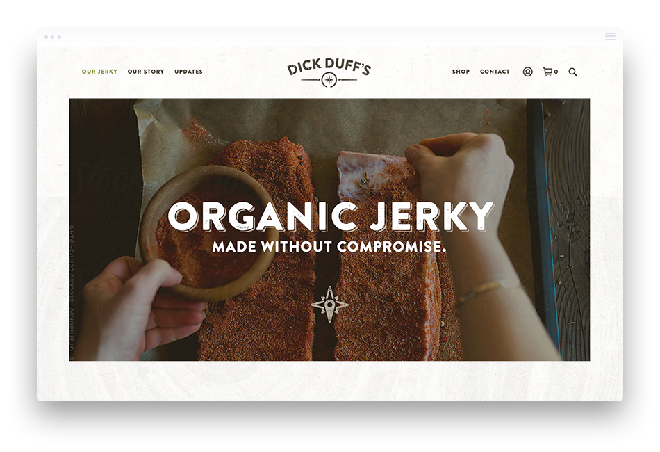 Branding and Web Design for Food & Beverage Products – Dick Duffs